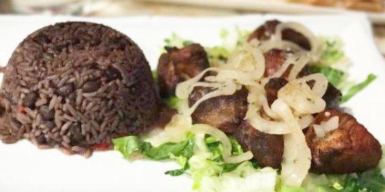Arroz congrí, receta cubana