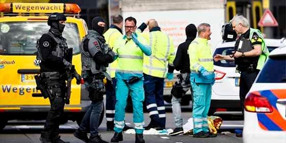 Posible atentado terrorista en Holanda: un muerto y multiples heridos en una estación de tranvías