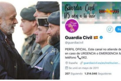 Memorable tuit de la Guardia Civil criticando el uso del Cuerpo para dar bola a las feminazis