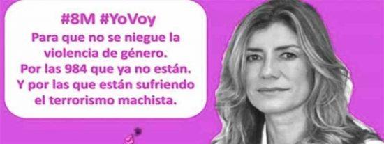 """Los gritos de las feminazis del politizado 8-M: """"¡Machirulo muerto, abono para mi huerto!"""""""