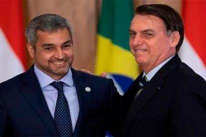"""Presidentes de Brasil y Paraguay unidos para acabar con """"el populismo y la demagogia"""" chavista"""