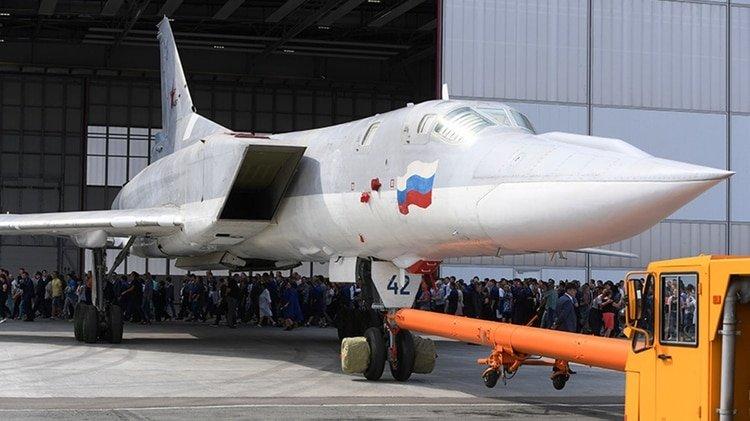 Rusia coloca sus bombarderos nucleares Tu-22M3 en Crimea