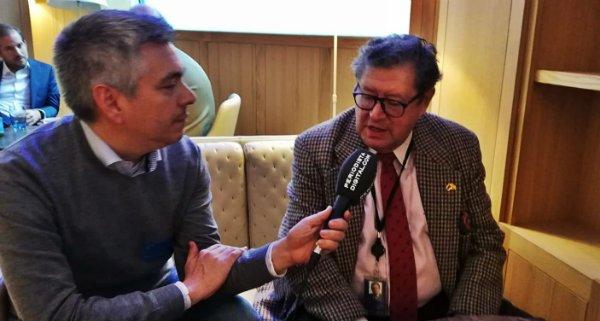 """Enrique Calvet: """"En Europa no se entiende que España está luchando por seguir existiendo"""""""