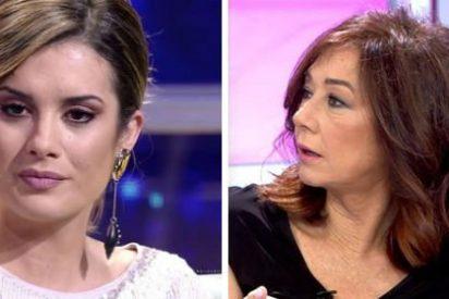 """Ana Rosa Quintana pone en un aprieto a Candela ('GH Dúo') por la """"bisexualidad"""" de Antonio Tejado"""