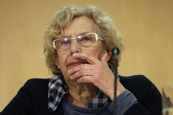 """Hombres, acordaros de Manuela Carmena a la hora del voto: """"La violencia está en el ADN masculino"""""""