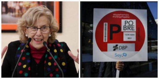 Una plataforma anti Madrid Central echa humo contra Carmena y su 'contaminante' plan para recaudar a costa de incautos conductores