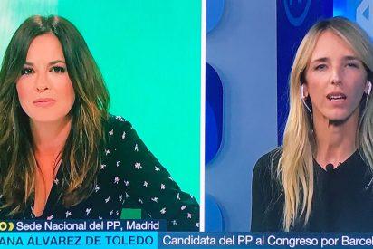 El histórico repaso de Cayetana Álvarez de Toledo a la 'marisabidilla' Mamen Mendizabal