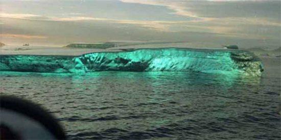¿Sabes hacia dónde se dirige el A68, el iceberg más grande del planeta, desprendido de la Antártica?
