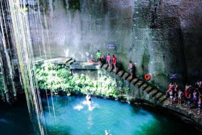 Lugares increíbles: Cenote Ik-Kil en Yucatán, México