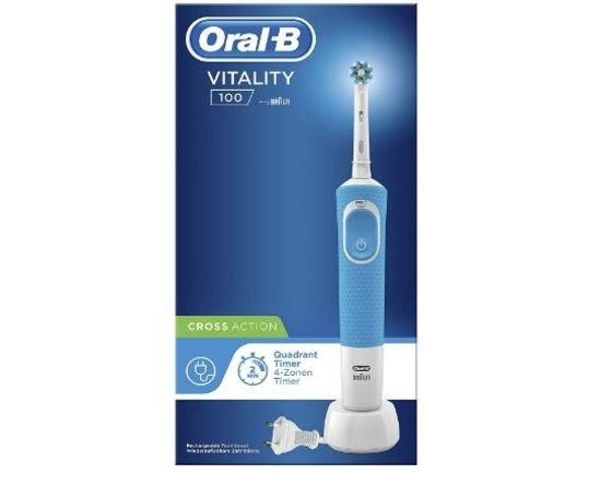 Cepillo eléctrico -Oral-B Vitality 100 CrossAction