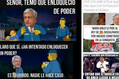 Los mejores memes contra López Obrador por exigir al Rey de España que se disculpe por la Conquista