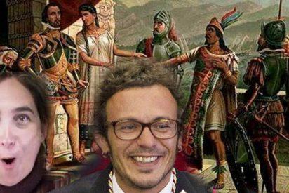 """""""Hasta los cojones de oír hablar a los masones y sus vasallos de la izquierda del tema de la conquista española"""""""