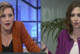 """Alta tensión entre Cristina Pardo (LASEXTA) e Isabel Díaz Ayuso (PP): """"¡Perdone, pero no!"""""""