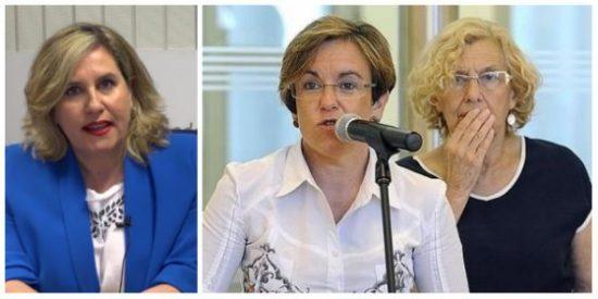 """Cristina López Schlichting revienta a las """"imbéciles"""" Carmena y Causapié por criminalizar como racistas a los españoles"""