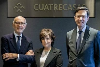 El prestigioso bufete de abogados Cuatrecasas ficha a Soraya Sáenz de Santamaría