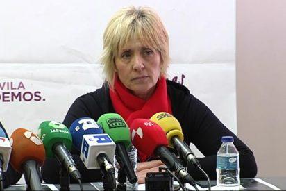 La candidata asesina de Podemos pide socorro a las feministas con la excusa de que la 'linchan' por ser mujer