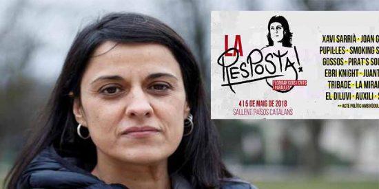 La fugada Anna Gabriel da el salto a la canción protesta