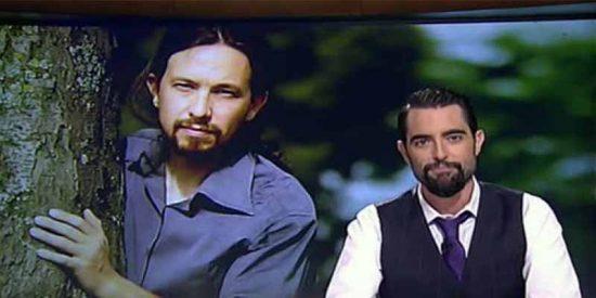 Dani Mateo deja con el culo al aire a Pablo Iglesias con un chiste que pone nerviosos a sus jefes de La Sexta
