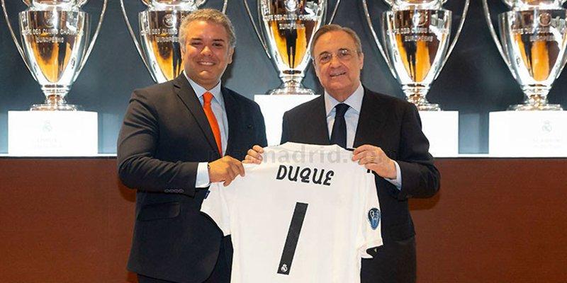 ¿Es Iván Duque el culpable de la mala racha del Real Madrid?