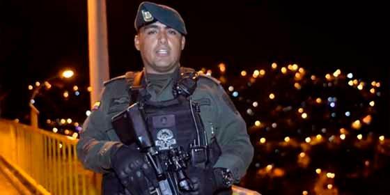 Vídeo: Jefe del grupo especial GOES se suicida con un tiro en la cabeza luego de discutir con su pareja