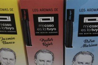 El efecto óptico en esta foto de productos de Bertín Osborne lo peta en Twitter
