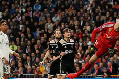 El Ajax de Holanda humilla por 4-1 al Real Madrid