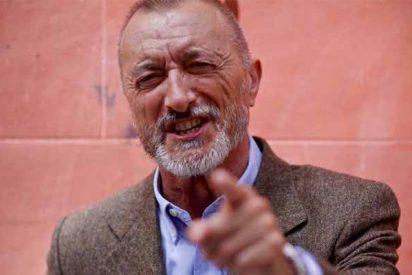 Pérez-Reverte le propina un zasca de mucho cuidado a una feminista por bocachancla