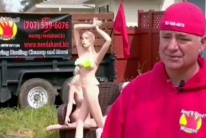 La curiosa venganza de este hombre en California al que sus vecinos obligaron a reducir su cerca