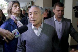 Expresidente brasileño Michel Temer, arrestado por el caso Lava Jato