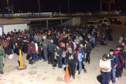 EEUU: Patrulla Fronteriza detiene a 446 migrantes en cinco minutos