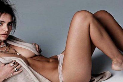 El bikini con menos tela de Emily Ratajkowski que no podrás dejar de mirar