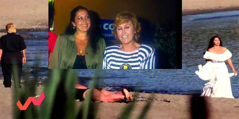 Los frikies de T5 desvelan el 'secreto' de la foto prohibida de Encarna Sánchez e Isabel Pantoja