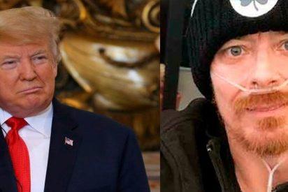(VIDEO): Enfermo terminal cumple su sueño ¡Hablar con Trump!