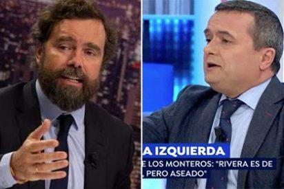 """Chema Crespo (Público) se pone como un demonio contra Espinosa de los Monteros (Vox) llamándole """"gilipollas"""" impunemente"""