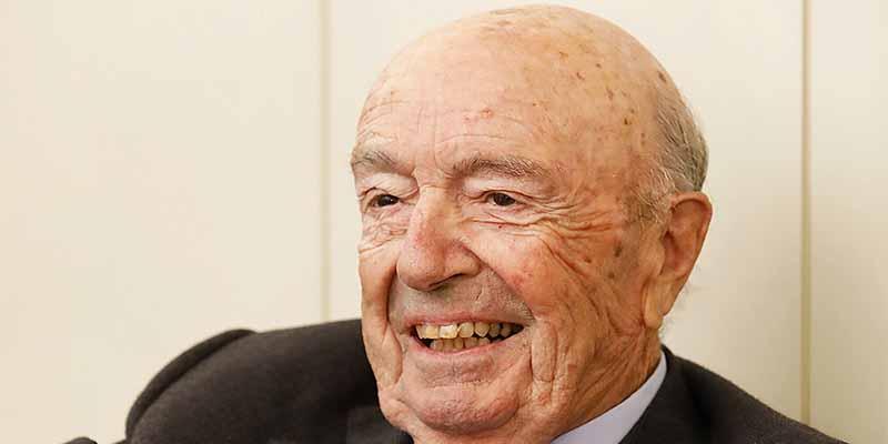 Fallece a los 89 Josep Esteve, presidente de la Fundación Esteve