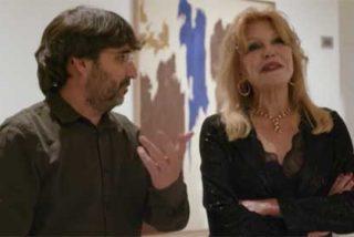 Carmen Thyssen no muerde el anzuelo que el taimado Évole le puso para enmerdar sobre Aznar y le remata con un monumental corte