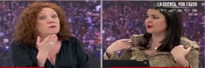 Telemadrid paga a Cristina Fallarás para que reparta carnets de buena feminista y ponga en la diana a Ketty Garat