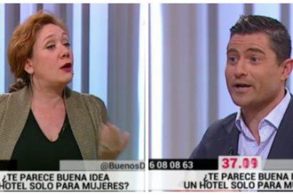 """La feminista de boquilla Cristina Fallarás no quiere hoteles exclusivos para mujeres porque """"es machista"""""""