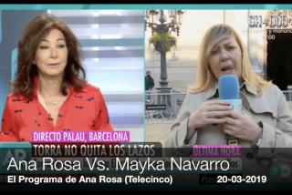 """La última ida de olla de Mayka Navarro que exalta a Ana Rosa: """"¡Te voy a matar yo con mis propias manos!"""""""