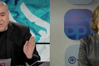 """La alcaldesa de Logroño se enfrenta a un más que alterado Ferreras: """"Están sacando de quicio algo que nosotros nunca hemos planteado"""""""