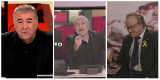 ¡En todos los morros, Ferreras! Tanto elogiar a 'Polònia' y ahora TV3 le acusa de manipular el juicio del procés