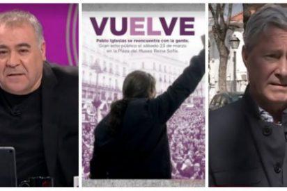 """Verstrynge le dinamita a Ferreras su programa feminista: """"Es injusto montar el número por el cartel de Pablo Iglesias"""""""