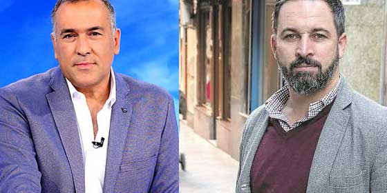 """Fortes se pone gallito y se hace el chuleta: """"En TVE nadie le amordaza, señor Abascal, llevamos tres meses esperándolo"""""""