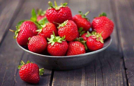 Menú de Día del Padre fresas