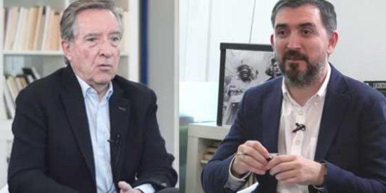 """Tremendo repaso de decenas de tuiteros a Iñaki Gabilondo por afirmar que VOX """"es el franquismo"""" para alegría de Ignacio Escolar"""