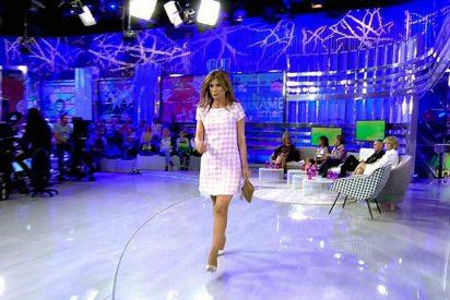 Gema López se niega a compartir plató con María Lapiedra y se va de 'Sálvame'