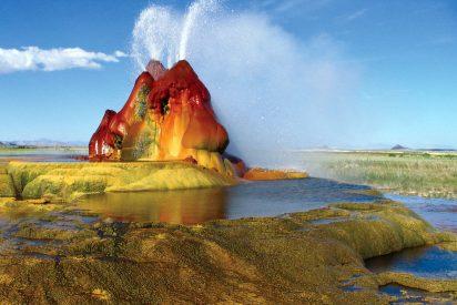 Lugares maravillosos: Géiser Fly, Nevada, Estados Unidos