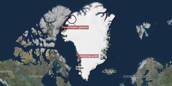 Cambio Climático: El glaciar más inestable de Groenlandia vuelve a avanzar hacia el mar