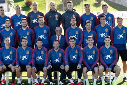 El presidente de Globalia visita a la Selección Española de Fútbol
