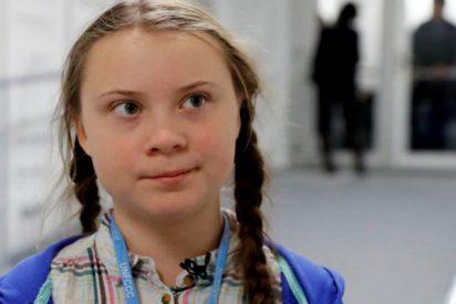 Greta Thunberg, abusada en 'cuatro': la polémica pegatina de una petrolera canadiense